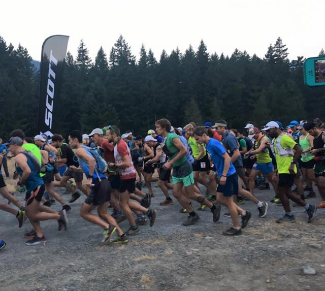 White River 50 mile Run - ESAR support 8-5-17